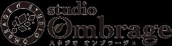 ヨガスタジオ オンブラージュのロゴです。
